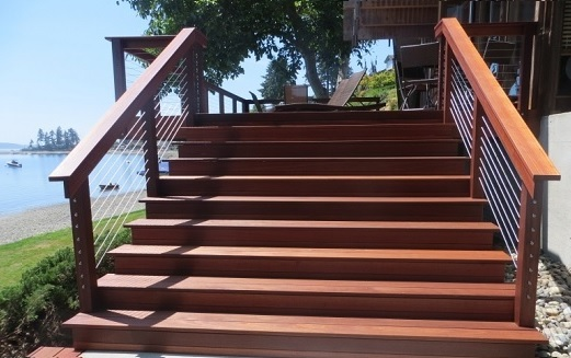 balau timber stepboard & fencing