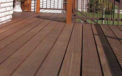 balau and chengal timber decking